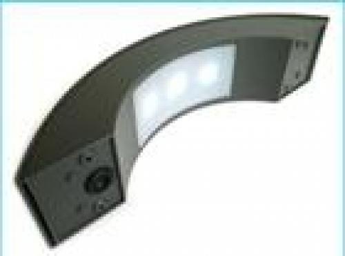 Applique led per esterno e interno modello mezzaluna corpo